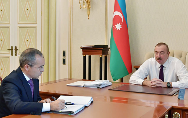 Prezident Mikayıl Cabbarovla görüşdü