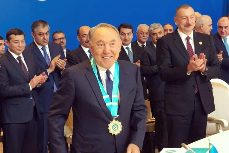 Nursultan Nazarbayevə Türk Dünyasının Ali Ordeni verildi