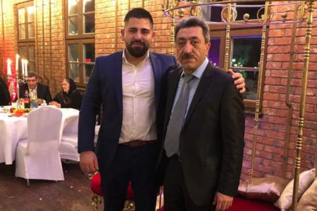 """İlham Həsən oğlu ilə fotosunu paylaşdı: """"Bu sevincli günümü…"""""""