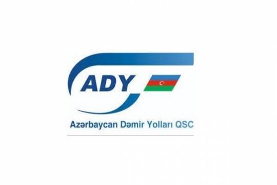 """""""Azərbaycan Dəmir Yolları""""ndan qəzayla bağlı açıqlama"""