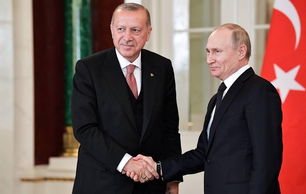 Ərdoğanla Putin Suriya məsələsini müzakirə ediblər