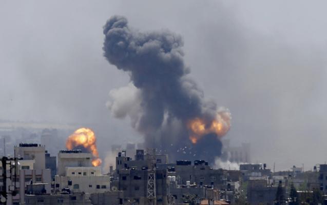 İsrail hərbi qüvvələri Dəməşqi bombaladı – Ölən və yaralananlar var