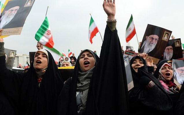 İranda hökumət əleyhinə aksiya keçirilib