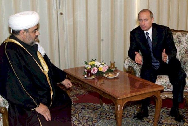 Putin Allahşükür Paşazadəni təltif etdi