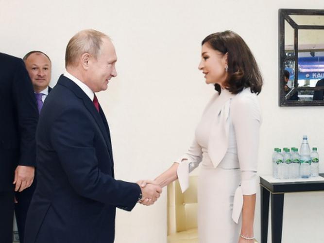Mehriban Əliyeva Putinlə görüşəcək