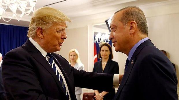 """Tramp Ərdoğana: """"Sizin böyük fanatınızam"""""""