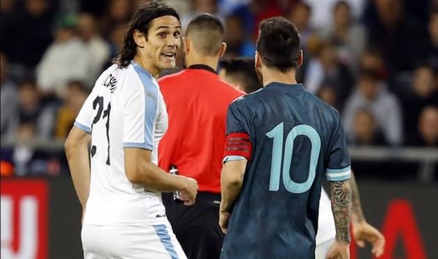 Kavani Messi ilə mübahisəsinə aydınlıq gətirib