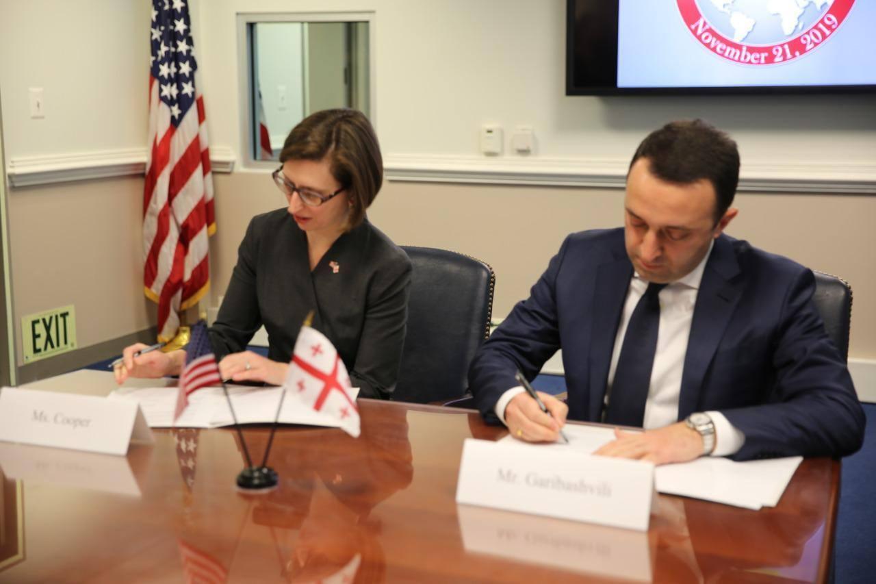 Gürcüstan və ABŞ arasında təhlükəsizliyə dair saziş imzalanıb