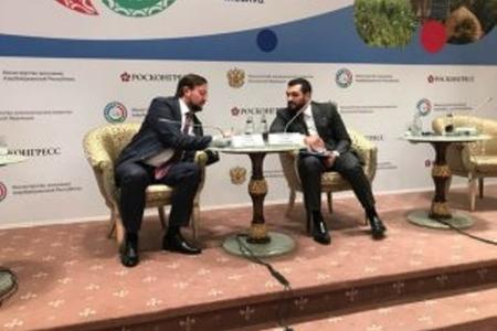 Səməd Qurbanov Azərbaycan-Rusiya turizm alyansının yaradılacağını açıqladı