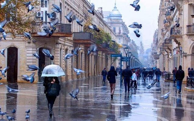 Bakıya yağış, rayonlara qar gözlənilir