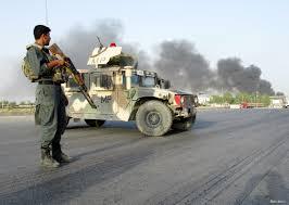 """Əfqanıstanda """"Taliban"""" məntəqəyə hücum edib 10 polisi öldürdü"""