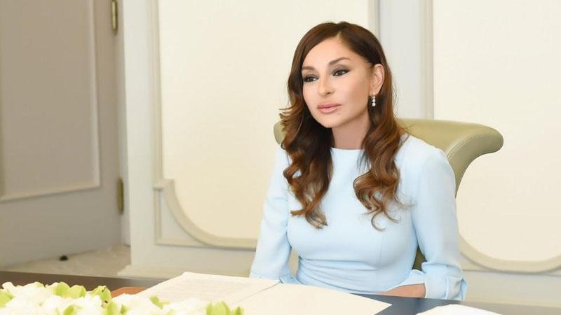 Birinci vitse-prezident Mehriban Əliyeva Bəhram Bağırzadə ilə telefonla danışıb