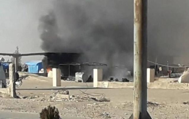 PKK Suriyada qaçqın düşərgəsini yandırdı
