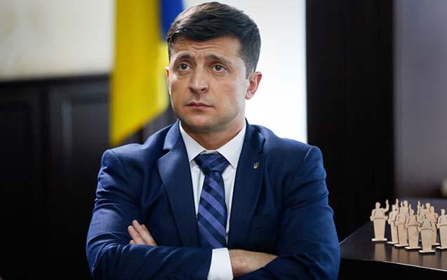 Ukrayna prezidentinin ötən ilki gəliri açıqlandı