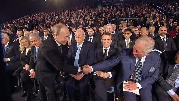 Putin hamıdan sonra gəldi və… – VİDEO