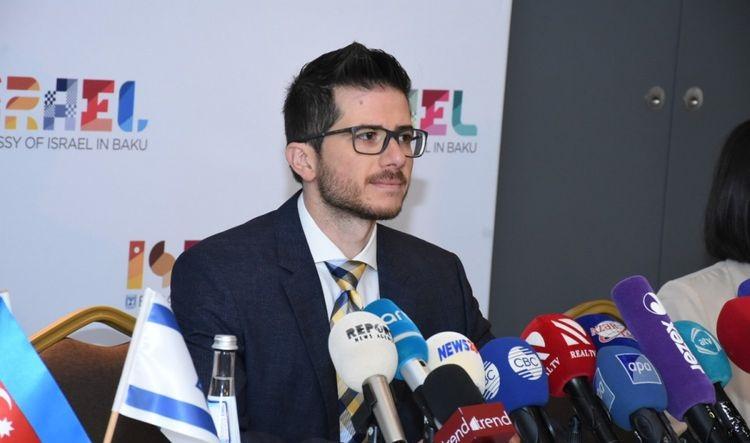 """""""İsrail Azərbaycanın ərazi bütövlüyünü tam dəstəkləyir"""" – Corc Dik"""