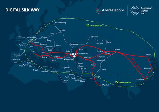 Azərbaycan regionun enerji və nəqliyyat mərkəzindən əlavə, həm də rəqəmsal mərkəzinə çevrilir
