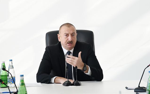 """""""Müxtəlif vasitələrlə gəncləri yoldan çıxarmaq istəyirlər"""" – İlham Əliyev"""