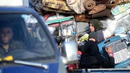 İdlibdə 1 milyon 200 min Suriyalı 2.5 ayda evlərindən didərgin düşdü