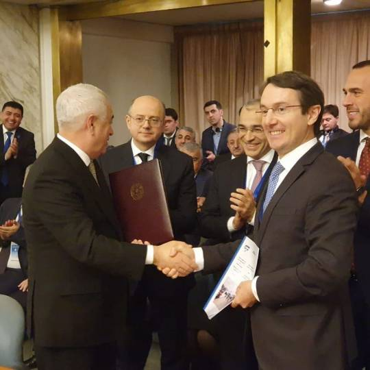 İtaliyada Azərbaycan dəmir yollarının yükdaşıma imkanları təqdim edilib