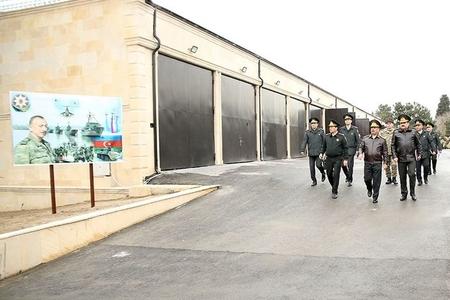 Müdafiə naziri hərbi təyinatlı obyektlərin açılışında iştirak edib