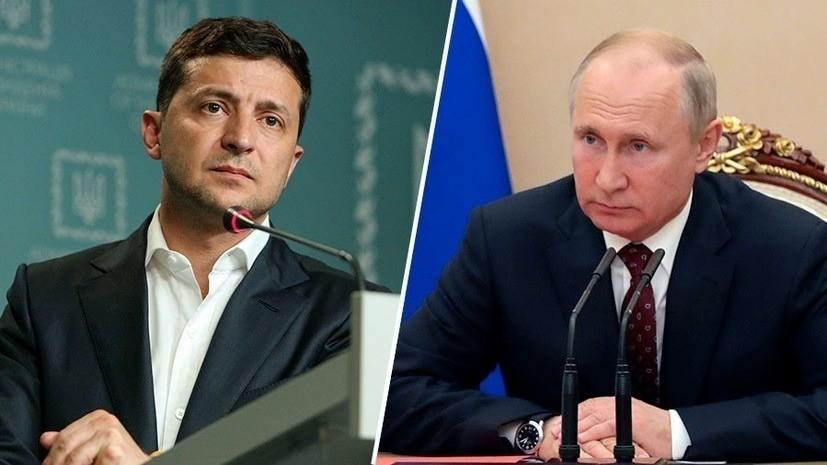 Putin Zelenski ilə telefonla danışdı