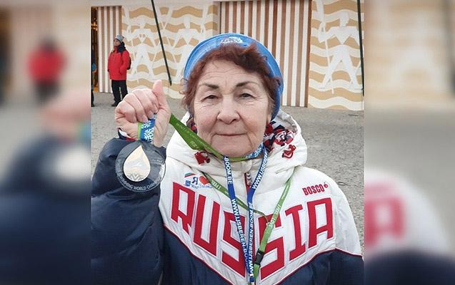 83 yaşılı nənə qızıl medal qazandı –