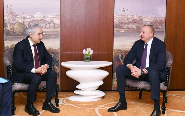 Prezident Fatih Birolla görüşdü