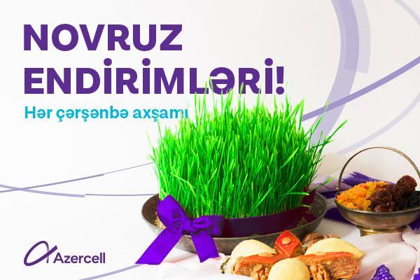 Azercell-dən Novruz hədiyyələri davam edir!