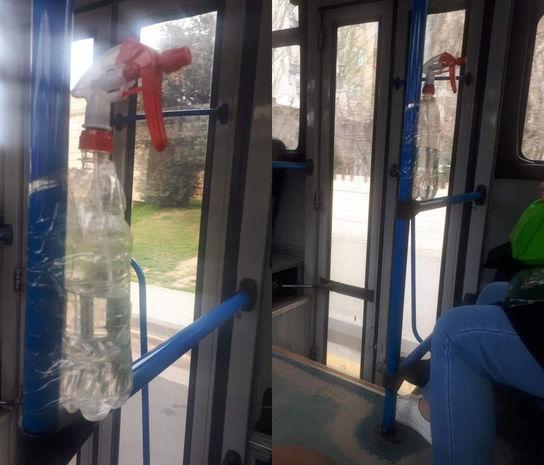 Bakıda müntəzəm marşrut avtobusunda biabırçılıq –
