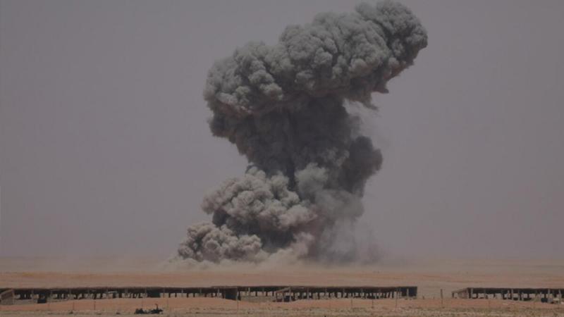 ABŞ İraqda Hizbullah bazalarını bombaladı
