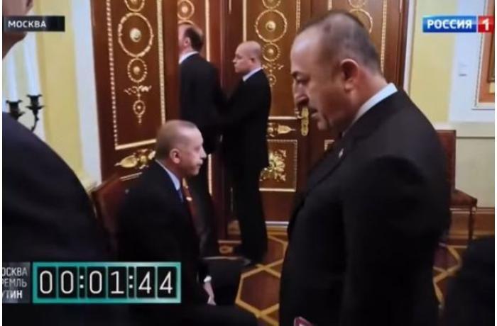 Putin Ərdoğanı dəhlizdə gözlədib –
