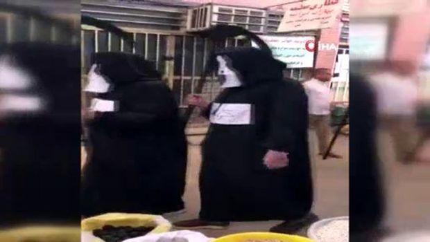 """İranda """"Əzrayıl"""" peyda oldu, əhaliyə səsləndi:"""