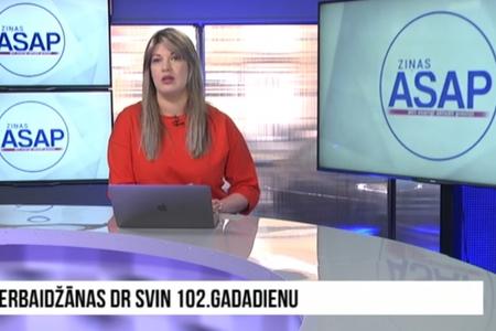 Latviya televiziyasında Respublika Günü haqqında reportaj yayımlanıb