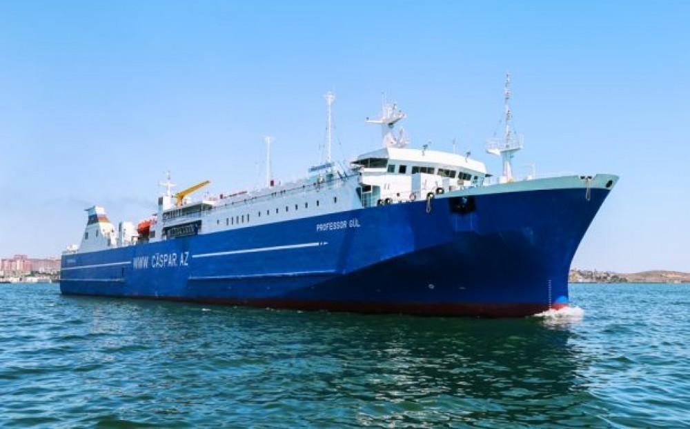 Daha 24 nəfər gəmi ilə Bakıdan Qazaxıstana yola salındı
