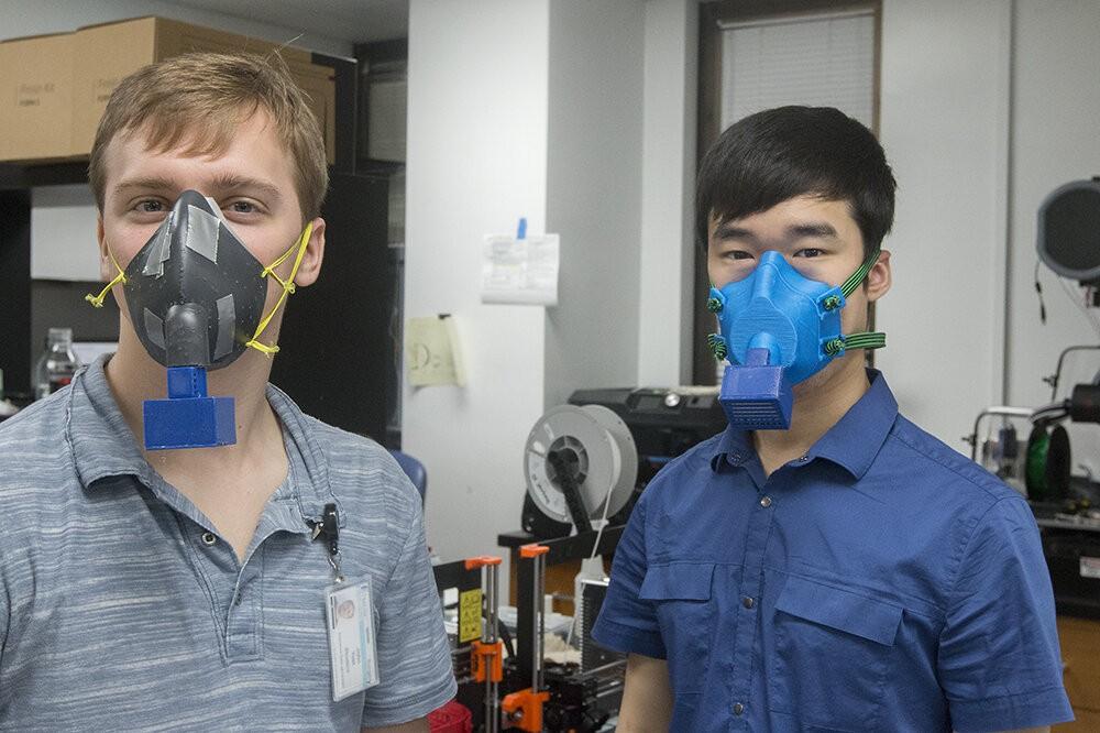 Biomühəndislər koronavirusu aşkarlayan sensorlu maska hazırlayır
