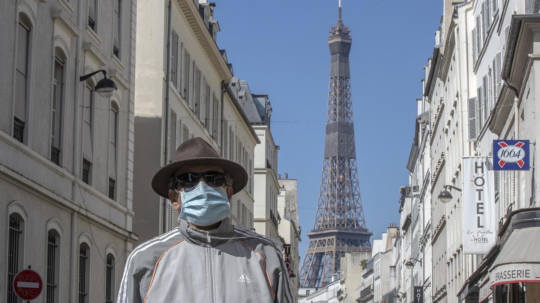 Fransada koronavirus xəstələrinin sayı azalır