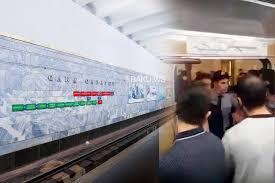 Bakı metrosunda polislə sərnişinlər arasında qalmaqal – Vətəndaşlar polisləri metrodan qovladılar –